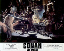 Conan der Barbar ORIGINAL Aushangfoto Arnold Schwarzenegger / James Earl Jones