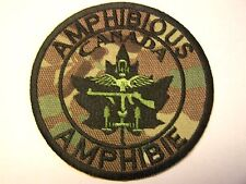 Canada Canadian Amphibious Special Forces Commando Patch