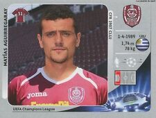 N°577 AGUIRREGARAY # URUGUAY CFR.CLUJ UEFA CHAMPIONS LEAGUE 2013 STICKER PANINI