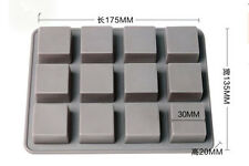 Cake Mold Soap Mold Mold Square Mold Silicone Mould For Candy Chocolate