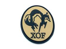 XOF Foxhound Metal Gear Solid Cosplay Airsoft PVC Patch