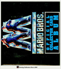 *Australia Dynamic Super Mario Bros Trading Card Official Album (with pages)RARE