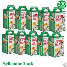 200 Sheet Fujifilm Instax Mini Film Fuji instant photos 7s 8 25 90 Polaroid 300.