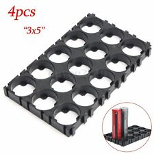 4pcs 18650 Battery 3x5 Cell Spacer Radiating Shell EV Pack Plastic Heat Holder