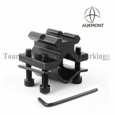 Rifle Barrel Clamp 20mm Rail Weaver Mount Stand For Light/ Scope/ Bipod/ Laser