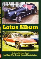 Book - Lotus Album - Seven Elan Europa Elite Chapman Formula 1 - Auto Review