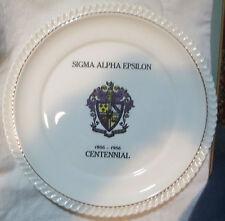 1956 Sigma Alpha Epsilon Fraternity Plate University of Pennsylvania Balfour SAE