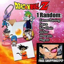 DragonBall DBZ Mystery Box! $50+ VALUE! Collectibles + Art & MORE **FREE SHIP**