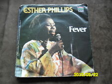 Kudo 7 inch Single ESTHER PHILLIPS    For All We Know/ Fever  ( 1976)