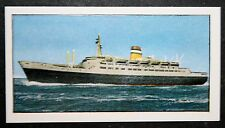 SS STATENDAM   Holland-America Line   Vintage Colour Card