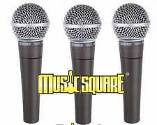 Shure SM58 Vocal Microphone 3 PACK!  BEST SELLER