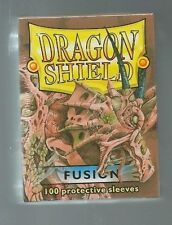 (100) Dragon Shield Fusion Protective Sleeves Sealed Magic MTG FREE SHIPPING