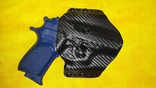 HOLSTER COMBO BLACK KYDEX BERSA THUNDER 380 With Crimson Trace Grip Laser OWB