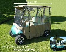 2 Passenger Driving Enclosure Fit Yamaha Drive Model Golf Cart Exclusively. New