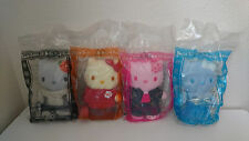 Mcdonalds Hello Kitty 2001 Asia Colorful Seasons Plush Complete Set x 4 New