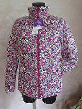 LIBERTY Uniqlo Pink Betsy Flower Water Repellent High-Tech Jacket L 12-14 BNWT