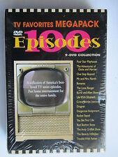 """TV FAVORITES MEGAPACK(9 DVD COLLECTION) """"BRAND NEW"""" 100 TV EPISODES"""