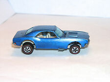 1968 Hot Wheels Redline Custom Camaro US HK BLUE HYBRID PRETTY but READ!