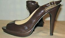 QUPID BEAUTIFUL BROWN SHOES Size 9