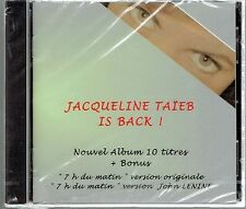 CD - JACQUELINE TAIEB - Is Back