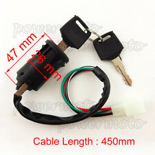 4 Wire Key Switch For 50cc 70cc 110cc 4 Wheeler Pit Dirt Baja Mini Bike ATV Quad
