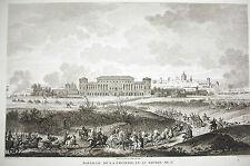 Bataille de La Favorite  Campagne d'Italie Napoléon Bonaparte 1815 Carle Vernet