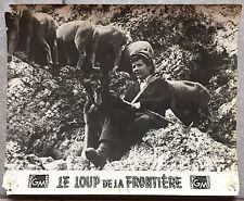 Photo Originale LE LOUP DE LA FRONTIERE Edoardo Anton PIERO LULLI Maria Frau