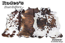 Superior Quality Rodeo Cowhide Rugs Value Combo Sets Large Size 3 pcs