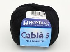 2 Balls of Mondial Cable 5 Knitting Yarn Color 200