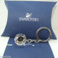 Swarovski Crystal Ball Key Ring Holder SWAN LOGO Event Gift Authentic MIB 623413