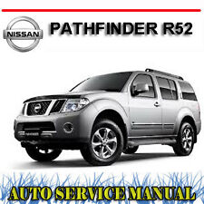 NISSAN PATHFINDER R52 3.5L V6 2013-2014 WORKSHOP SERVICE REPAIR MANUAL ~ DVD