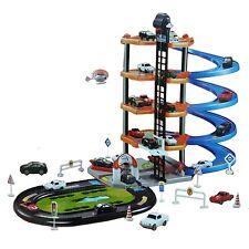 Nivel 5 coche moderno parque de entrada de Auto Lavado De Autos Garage Set Kids Gas Station Play Set