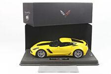 BBR 2015 Chevrolet Corvette Z06 Velocity Yellow 1:18 P1893A-1 1:18 LE 52pc *New!