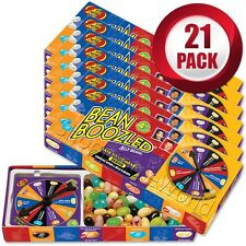 21 Pack BEAN BOOZLED Spinner Game 3.5oz by Jelly Belly ~ Candy Challange
