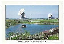 "CORNWALL - GOONHILLY AERIALS, Satellite Tracking Station 6"" x 4"" Postcard"