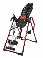 Teeter EP-970 Ltd.Red Inversion Table with Back Pain Relief Kit -E1007R- New!!