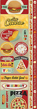 Reminisce FAST FOOD COMBO Cardstock Stickers scrapbooking BURGER FRIES PIZZA