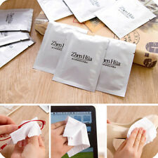 10Pcs Disposable Microfiber Lens Glasses Cleaning Cloths For Sunglass Eyeglass