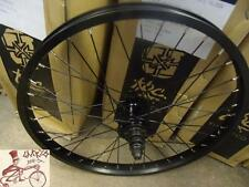 "VERDE REGENT CASSETTE 36H--14MM AXLE--20""X 1.75"" BLACK BMX BICYCLE REAR WHEEL"