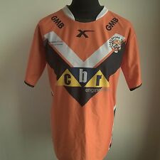 CASTLEFORD TIGERS 2015 HOME LEAGUE RUGBY SHIRT BLADES JERSEY SIZE ADULT L