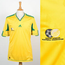 ADIDAS SOUTH AFRICA HOME FOOTBALL SHIRT SOCCER JERSEY 2009 - 2011 KIT T-SHIRT L