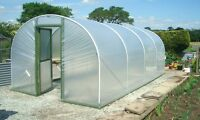 10ft Wide Polytunnel Greenhouse - 3m Wide Poly Tunnel from Premier Polytunnels