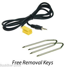 FIAT SCUDO 2007 to 2012 AUX IN AUXILIARY 3.5 JACK CABLE IPOD IPHONE MP3