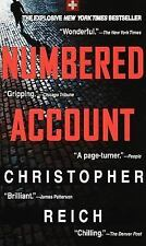 Numbered Account by Christopher Reich Mass Market PB 1998 USED New York Times BS