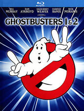 Ghostbusters 1 & 2 Blu-ray 2014 2-Disc Set Digibook Mastered 4K  BRAND NEW