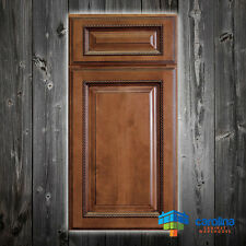 All Solid Wood ( RTA ) Cabinet Sample Door Rope, Wood Cabinets Color: Brown