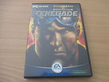 pc cd-rom command & conquer: renegade
