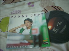 "a941981  Danny Chan 陳百強  HK EMI Debut 7"" Vinyl EP / Single First Love"