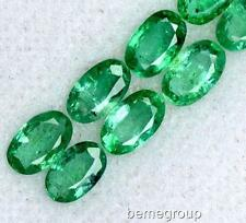 6PIC $1000 NATURAL 1.07 CT COLOMBIAN OVAL CUT EMERALD LOOSE GEMS STONE !!!