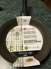Lumenflon Frying Pan Made in Italy 10.5/26 Cm Non-Stick Coating Pfoa Free Stainl